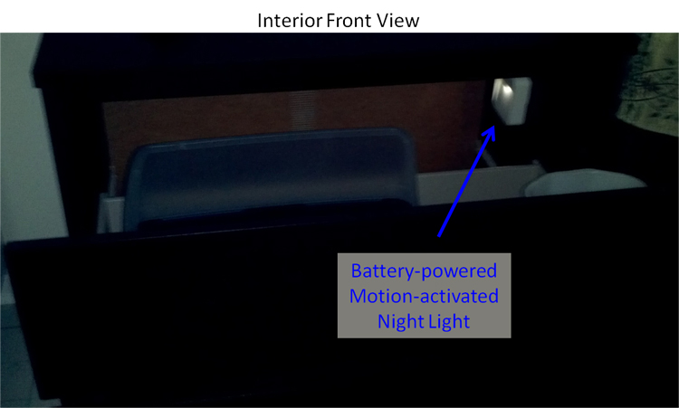 Battery-Powered Motion-Activated Nightlight