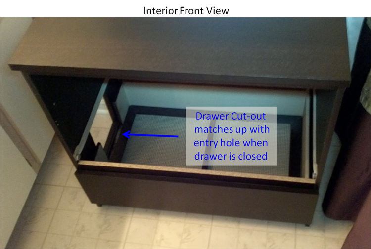 Bottom Drawer Closed
